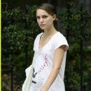 Natalie Portman Looking Sad In New York
