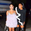 Nicole Scherzinger and Cloe Flower – Arrive at the L'Avenue Fashion Event in New York