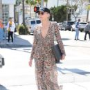 Sharon Stone in Sheer Dress out in Beverly Hills - 454 x 590