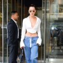 Bella Hadid – Leaving her hotel in New York City