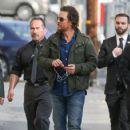 Matthew McConaughey visits 'Jimmy Kimmel Live' Hollywood Ca January 24, 2017