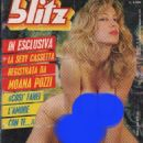 Moana Pozzi - BLITZ Magazine Cover [Italy] (9 September 1988)