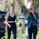 Ireland Baldwin and Sailor Brinkley-Cook – Heading to a gym in Los Angeles