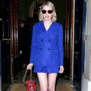 Emma Roberts – Arriving to th Mulberry Show 2018 in London