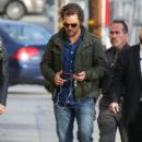 Matthew McConaughey visits 'Jimmy Kimmel Live' Hollywood Ca January 24, 2017 - 406 x 600