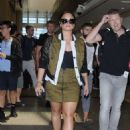 Demi Lovato at the LAX airport in Los Angeles - 454 x 632