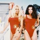 Yasmine Bleeth and Pam Anderson