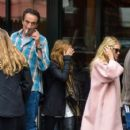 Mary Kate Olsen and Ashley Olsen: at Sant Ambroeus in the West Village