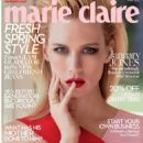 January Jones - Marie Claire Magazine Cover [United Kingdom] (May 2015)
