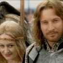 David Wenham As Faramir And Miranda Otto As Eowyn In The Lord Of The Rings - The Return Of The King (2003) - 454 x 191