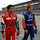 Sylvester Stallone and Kip Pardue in Warner Brothers' Driven - 2001
