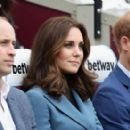 The Duke of Cambridge and Prince Harry Attend the Coach Core Graduation
