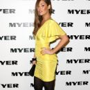 Erin McNaught - Myer Spring/Summer 2009/2010 Collection Launch At Carriageworks On August 5, 2010 In Sydney, Australia