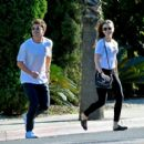 Lily Collins – Out on a lunch in West Hollywood