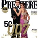 Pierce Brosnan, Halle Berry - Premiere Magazine Cover [France] (1 October 2012)