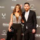 Antonella Roccuzzo and Lionel Messi – Presentation of Cirque du Soleil in Barcelona 01/31/2019 - 454 x 681