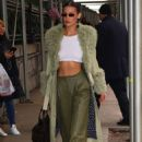 Bella Hadid – Spotted arriving at the Marc Jacobs show in NYC