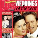 Catherine Zeta-Jones and Michael Douglas - US Weekly Magazine Cover [United States] (December 2000)