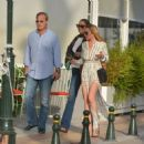 Lindsay Lohan- Shopping time in Kifisia, Athens September 2016