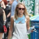 Actress AnnaSophia Robb on set of 'The Carrie Diaries' in New York City, New York on July 24, 2013