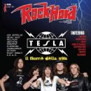 Jeff Keith, Brian Wheat, Frank Hannon, Dave Rude - Rock Hard Magazine Cover [Italy] (June 2014)