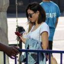 Jenna Dewan at Farmer's Market in Los Angeles - 454 x 590