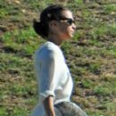 Michael Fassbender and Alicia Vikander are spotted on a rare outing together on May 2, 2017