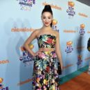 Kira Kosarin- Nickelodeon's 2017 Kids' Choice Awards - Red Carpet - 399 x 600
