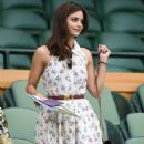 Jenna Louise Coleman – 2018 Wimbledon Tennis Championships in London