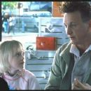 Dakota Fanning and Sean Penn in I Am Sam directed by Jessie Nelson and distributed by New Line Cinema - 2002