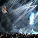 Ariana Grande performs on stage during the MTV EMA's 2014 at The Hydro on November 9, 2014 in Glasgow, Scotland