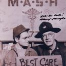 Gary Burghoff and Harry Morgan on M*A*S*H - 320 x 409