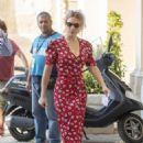 Lea Seydoux – On the set of a James Bond 'No Time to Die' in Matera