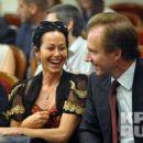 Ralph Fiennes and Amanda Harlech - 454 x 400