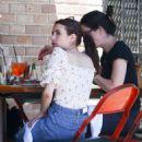 Emma Roberts – Grabs Lunch at Little Dom's in Los Feliz