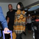 Kendall Jenner – Arrives at LAX Airport in Los Angeles