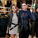Actress Sarah Hyland attends the Balmain x H&M Los Angeles VIP Pre-Launch on November 4, 2015 in West Hollywood, California - 390 x 600