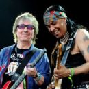 Bill Wyman performs with Micki Free during day 2 of the Hard Rock Calling festival held in Hyde Park on June 26, 2010 in London, England - 454 x 307