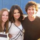 Selena Gomez hangs out with Allstar Weekened