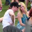 Kate Bosworth And Alexander Skarsgard At The Coachella Music Festival Day 2/3