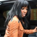 Kelly Rowland Arrives At The Nokia Green Room In London, 2008-05-02
