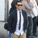 Jesse Metcalfe leaves the ITV studios on March 28, 2012 in London, UK