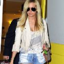 Ashley Tisdale Leaving The Byron & Tracey Salon