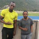 Kendrick Lamar Hangs With Usain Bolt & Assassin In Jamaica - 454 x 379