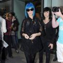 Katy Perry does a bit of shopping at Shepherd Market with friend Markus Mollinari before catching the Eurostar to Paris