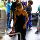 Jennifer Lopez – Arrives at the gym in Miami