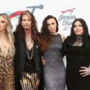 Steven Tyler attends the  GRAMMY Awards viewing party benefiting Janie's Fund held at Raleigh Studios on February 10, 2019 in Los Angeles, California - 454 x 303