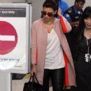 Frequent Flyer Kim Kardashian's Tinseltown Glam Session