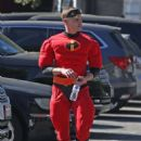 Ariel Winter and Levi Meaden get into the Halloween in Los Angeles