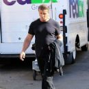 Sylvester Stallone leaving a salon in Beverly Hills, California on February 14, 2017 - 454 x 548